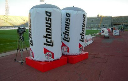 Cagliari: la birra Ichnusa è il nuovo sponsor