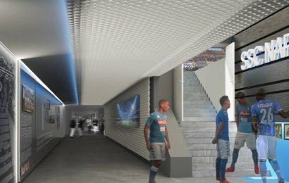 Stadio San Paolo di Napoli: al via i lavori. Ecco il percorso museo