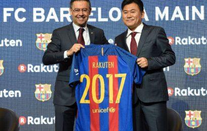 Barcellona: ecco il nuovo sponsor Rakuten