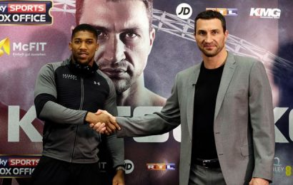 Boxe, Klitschko e Joshua si sfideranno il 29 aprile 2017
