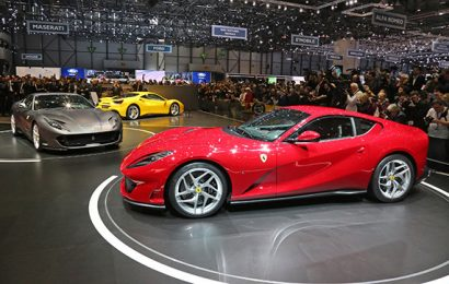 Salone di Ginevra, la Ferrari presenta la 812 Superfast