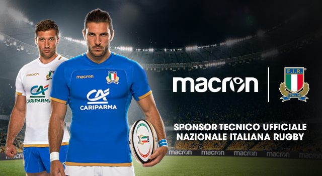 La Macron vestirà la Nazionale di rugby fino al 2025