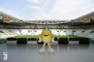 la Juventus si lega al marchio M&M's