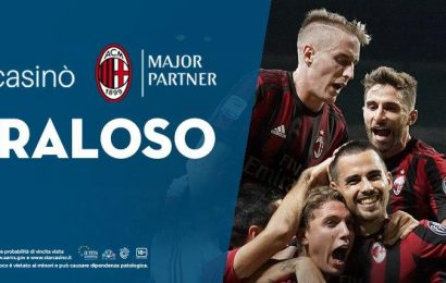 StarCasino è il nuovo Official Major Partner del Milan