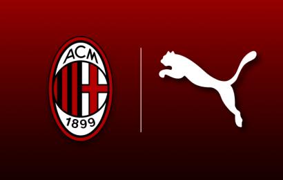 Milan e Puma, ufficializzata la partnership