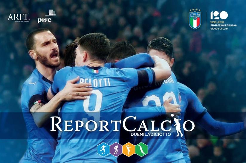 Report calcio 2018: aumentano valore della produzione e debiti