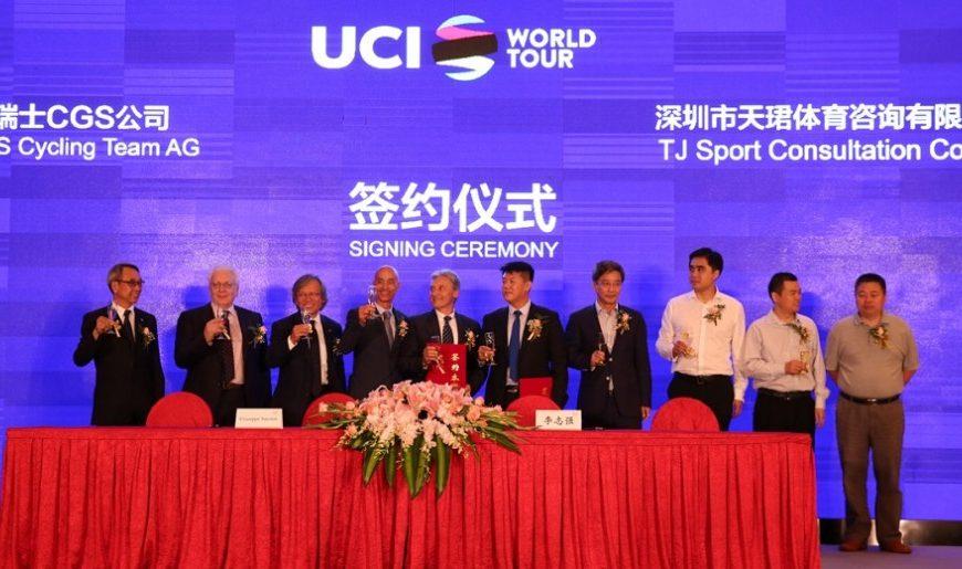 Ciclismo, i cinesi scelgono la Lampre
