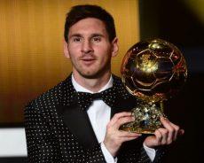 Messi vince il Pallone d'Oro 2019