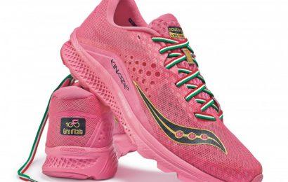 Saucony, da Boston arriva la scarpa ufficiale del Giro d'Italia