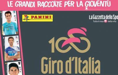 Panini, ecco le figurine del Giro d'Italia