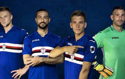 Sampdoria, ecco la maglia per la stagione 2017/2018