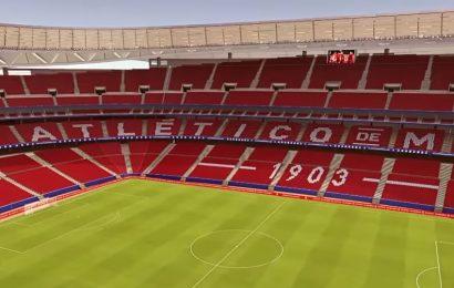 Atletico Madrid, ecco il Wanda Metropolitano