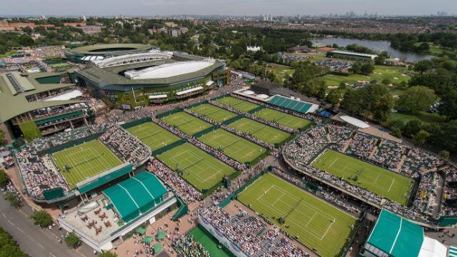 Tennis, il montepremi del torneo di Wimbledon