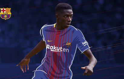 Il Barcellona spende: 105 milioni più bonus per Dembele