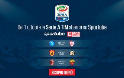 Sportube trasmetterà la Serie A in streaming