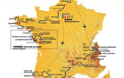 Lo spettacolo del Tour de France raggiunge 190 paesi