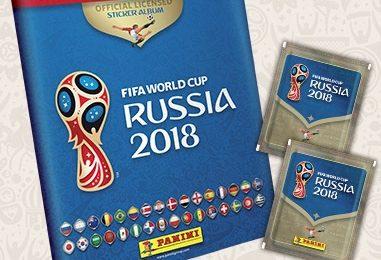 La Panini presenta la collezione dei Mondiali 2018