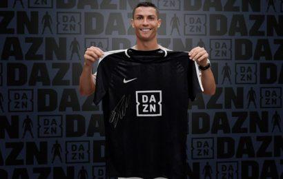 Cristiano Ronaldo diventa ambasciatore di DAZN