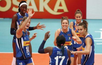 Mondiali di Volley femminili, l'Italia conquista l'argento.