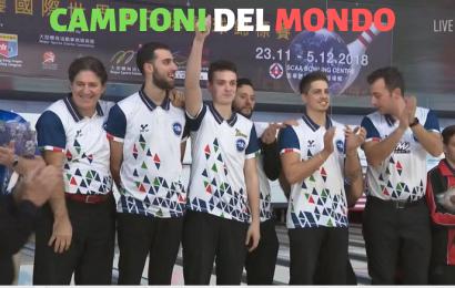 Bowling, l'Italia è Campione del Mondo