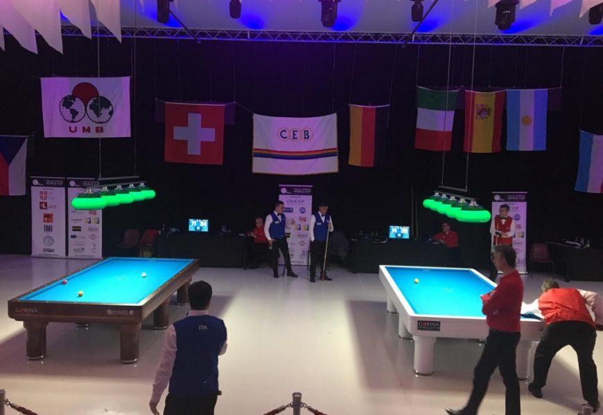 Biliardo, l'Italia è campione del mondo nei 5 birilli