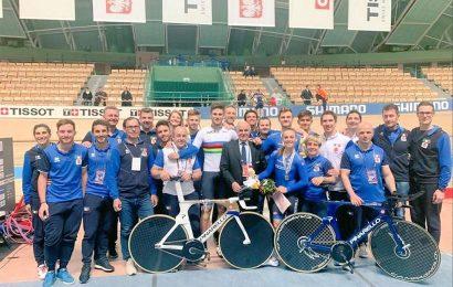 Mondiali di ciclismo su pista: oro, argento e bronzo per gli italiani