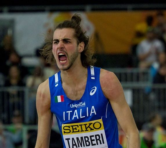 Europei indoor di atletica, Tamberi oro nel salto in alto
