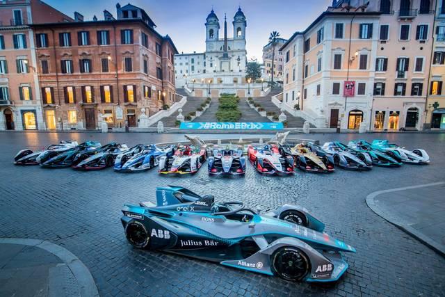 A Roma si corre la Formula E. Lo spettacolo sostenibile delle auto elettriche