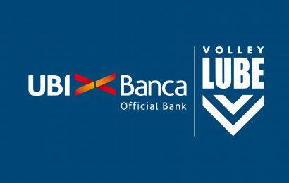 Pallavolo, UBI Banca rinnova la partnership con Volley LUBE