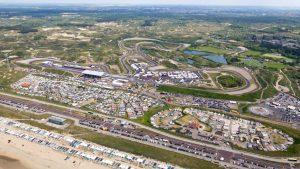 la pista del circuito di Zandvoort