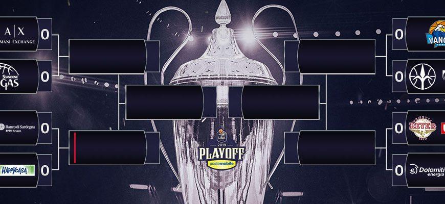 Basket Serie A: tabellone playoff. Diritti tv assegnati a Rai ed Eurosport