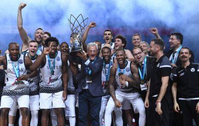 La Virtus Pallacanestro Bologna ha vinto la Champions League di basket e un premio da 1 milione di euro