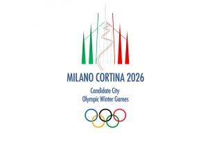 logo candidatura Milano Cortina 2026