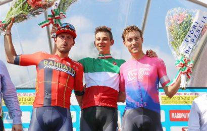 Davide Formolo è il nuovo campione italiano di ciclismo su strada