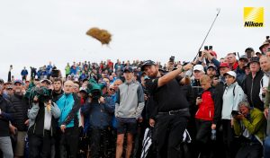il golfista Shane Lowry all'Open Championship