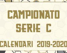 I calendari del campionato di Serie C 2019/2020