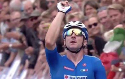 Elia Viviani è il nuovo campione europeo di ciclismo