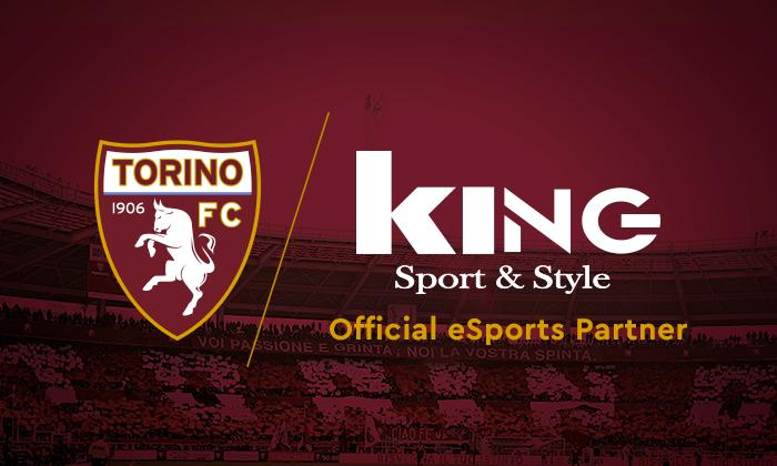 King Sport & Style è il nuovo official eSports partner del Torino