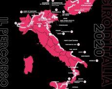 Il percorso del Giro d'Italia 2020