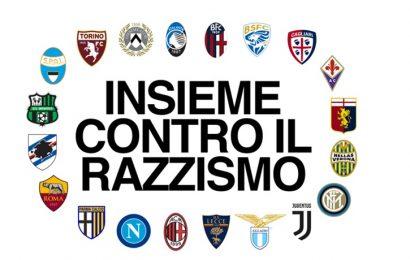 Calcio, la Serie A si unisce contro il razzismo