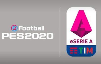 eSports, nasce la eSerie A TIM su eFootball PES 2020