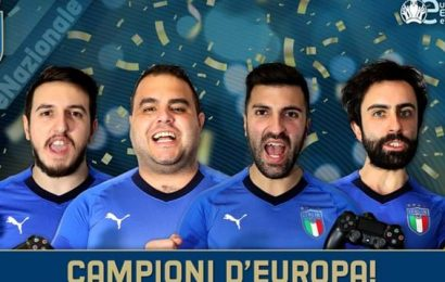 eSports, l'Italia è campione d'Europa virtuale su Pro Evolution Soccer