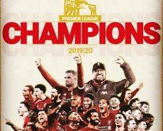 Il Liverpool vince la Premier League 2019/2020