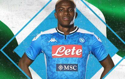 Victor Osimhen è un nuovo giocatore del Napoli. Colpo da 100 milioni