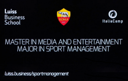 AS Roma, Luiss Business School e Italiacamp lanciano un nuovo Master in Sport Management