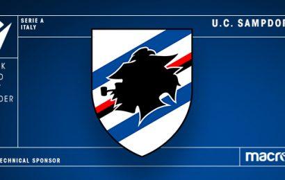 Macron nuovo sponsor tecnico della Sampdoria