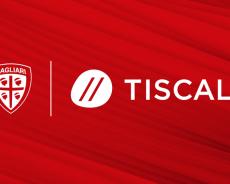 Tiscali è il nuovo back jersey sponsor del Cagliari