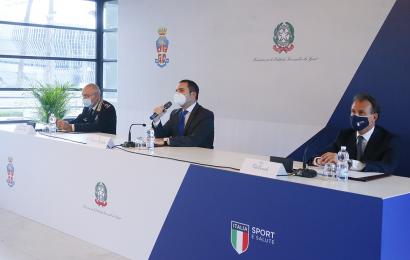 Il Protocollo d'Intesa tra Sport e Salute e l'Arma dei Carabinieri