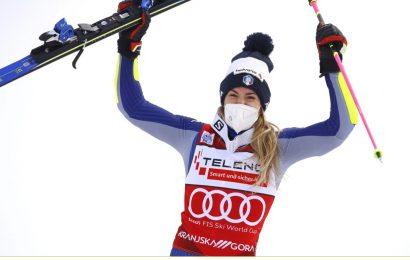 Sci, Marta Bassino vince il gigante di Kranjska Gora