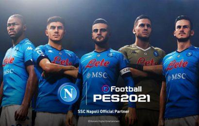 eSports, nuova partnership tra Napoli e Konami. Azzurri in esclusiva su eFootball PES